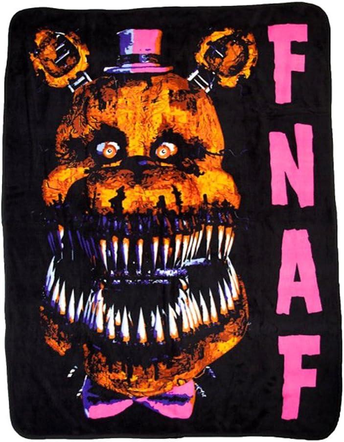BIOWORLD Five Nights at Freddie's store Blanket 48