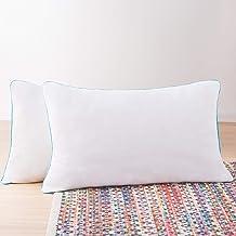 Linenspa 2 Pack Shredded Memory Foam Pillows - Moldable, Fluffable, Customizable - Universally Comfortable, White, King