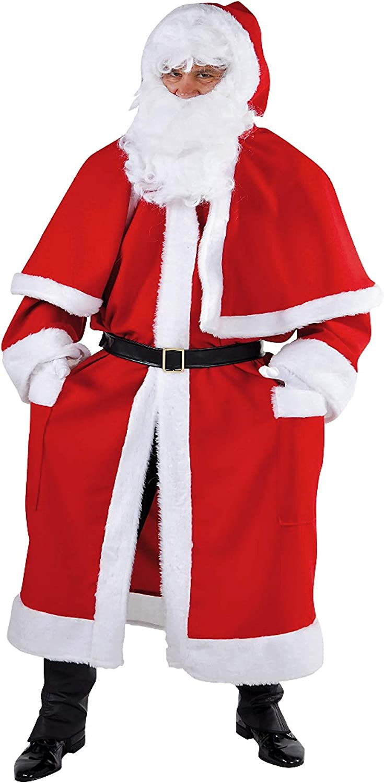 MAGIC BY FrotDYS Mantel Santa Claus 2-TLG. one Größe B07P5MZ29Z Elegantes Aussehen     | Praktisch Und Wirtschaftlich