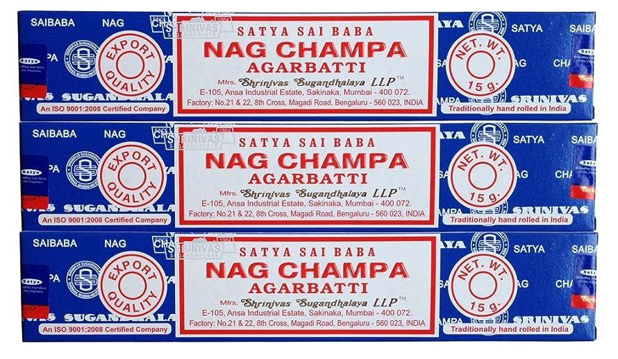 ヒープキャリアステートメントSATYAサイババナグチャンパ15g 3個セット