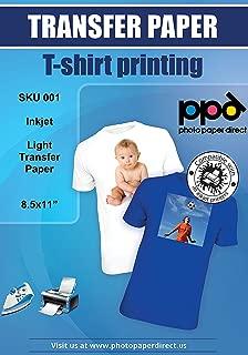 inkjet transfer paper in laser printer