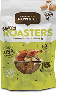 Rachael Ray Nutrish Savory Roasters Grain Free Roasted Chicken Recipe Dog Treats, 3 oz.