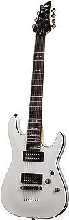 Schecter OMEN-7 7-String Electric Guitar, Vintage White