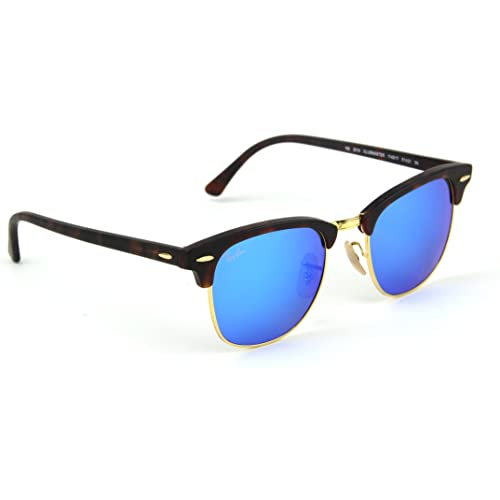 a206988ec1f Ray-Ban RB3016 Clubmaster Flash Series Unisex Sunglasses
