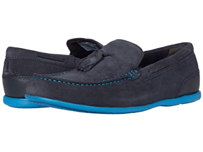 Rockport Malcom Tassel (New Dress Blues Suede) Men