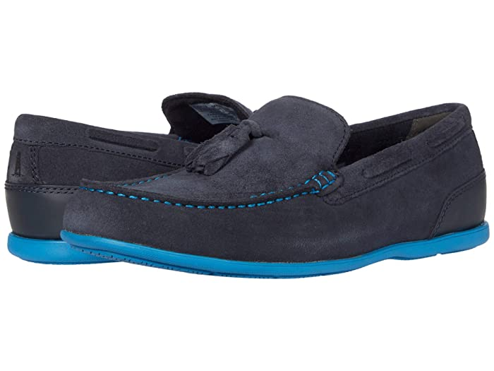 Rockport  Malcom Tassel (New Dress Blues Suede) Mens Shoes
