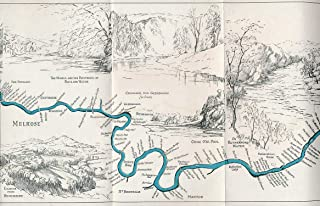 Fisherman's Map of Salmon Pools on the River Tweed