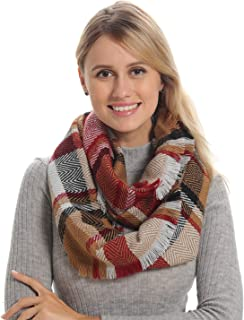 Best infinity scarf plaid Reviews