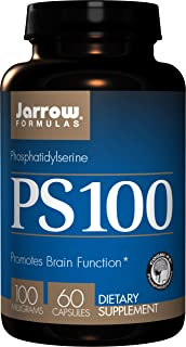 Jarrow Formulas PS 100, Promotes Brain Function, 100 mg, 60 Caps