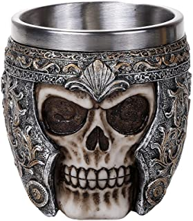 Pacific Giftware Medieval Viking Warrior Helmet Skull Cup Gothic Mug 8oz Drinking Vessel