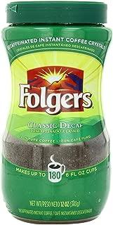 Folgers Classic Roast Instant Coffee, 12 oz