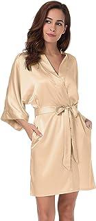 d163153e7ce Amazon.com  Golds - Robes   Sleep   Lounge  Clothing