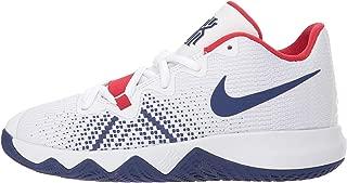 Kids Kyrie Flytrap Basketball Sneaker (PS) (White/Royal/Red, 3 Little Kid)