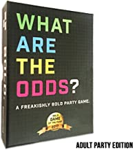 What are The Odds? Adult Party Edition - Funniest Daring Card Game, Best for Adults, Teens, 17+ Ages, Best Party Game or Event Game, and Sometimes NSFW. Players 2-20 or More! Quick and Fast Play!