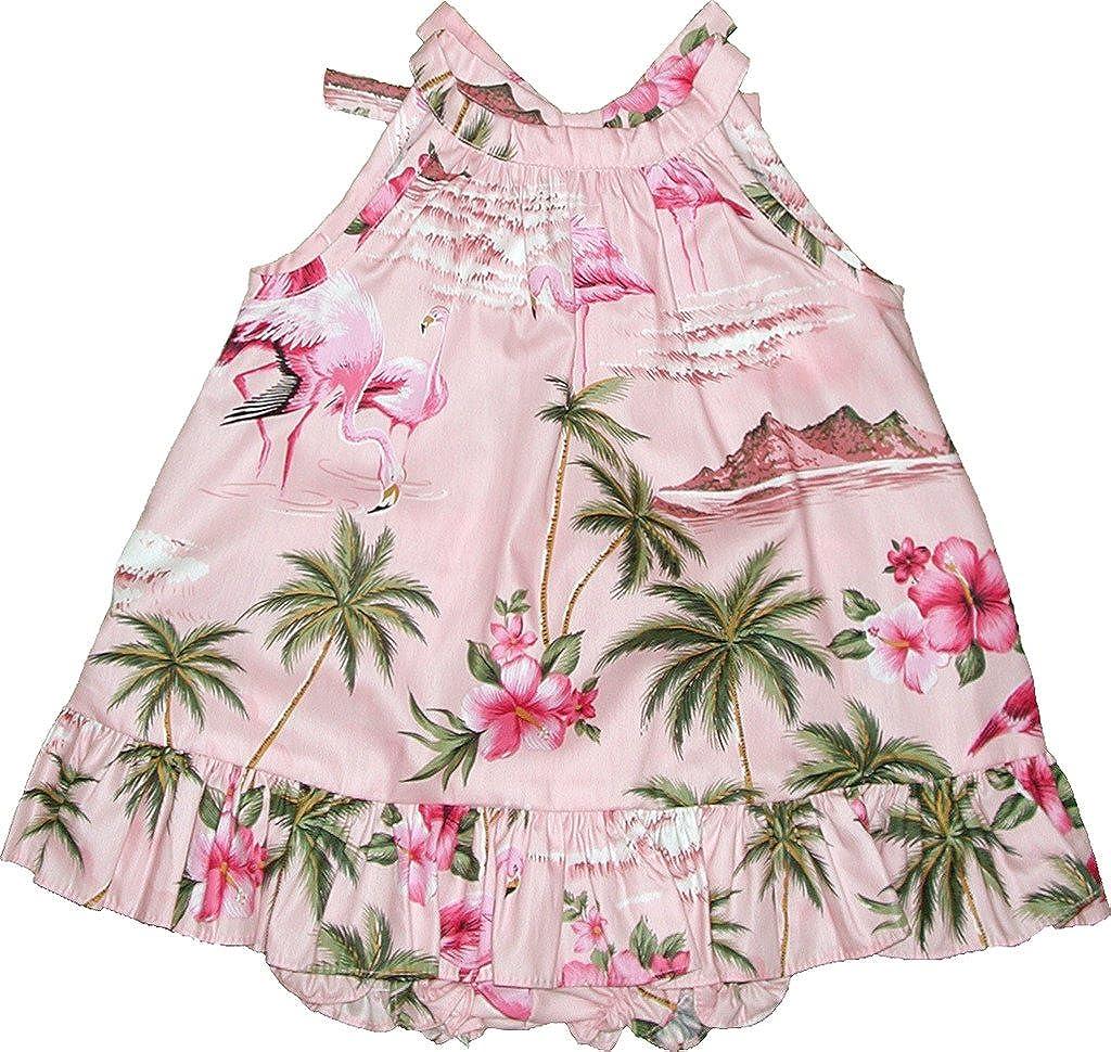RJC Baby Girl's Flamingo Paradise 2 Piece safety Ruffle Halter SALENEW very popular Hawaiian