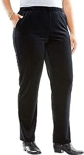 Women's Plus Size Velour Pant