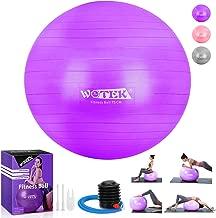 Fitness,Heim B/üro,sitzball,schwangere Frau Gymnastikball und Balance Stuhl Gymnastikball Sitzball Pilates Anti-Burst 65cm//75cm,Dicker Explosionsgesch/ützter Pilates Ball mit Pumpe,300KG f/ür Yoga