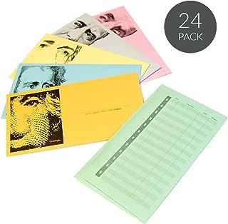 JumpOff Jo Save Me Cash Envelope Budget System, Original Version, 24 Pack