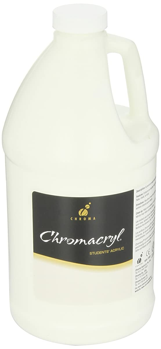 Chromacryl Students Acrylic Paint, 1/2 Gallon, White