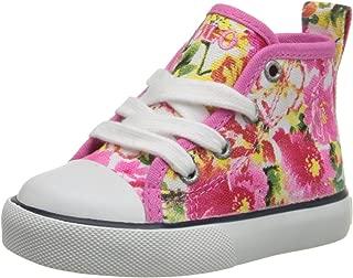Polo Ralph Lauren Kids Harbor Hi P Floral Fashion Sneaker (Toddler/Little Kid/Big Kid)