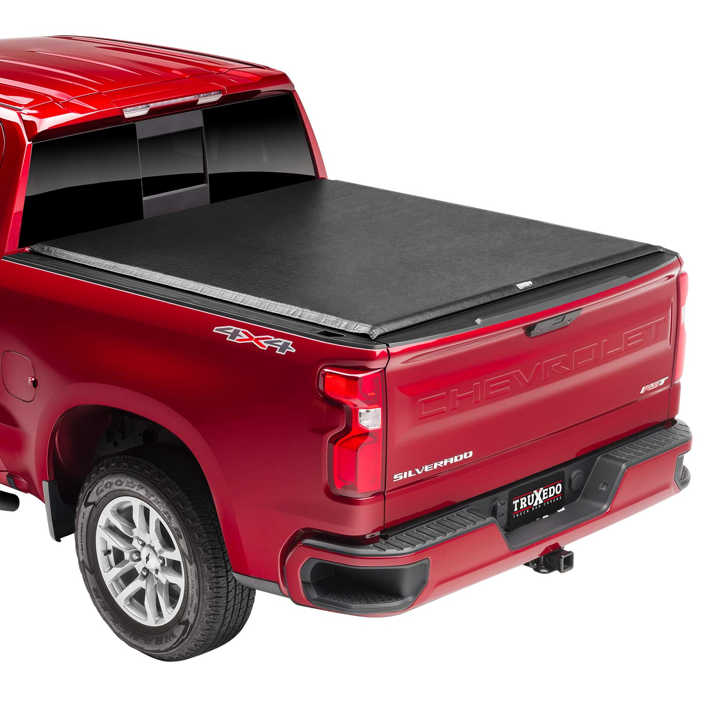 Truxedo Edge Soft Roll Up Truck Bed Tonneau Cover 872001 Fits 15 19 Gmc Sierra Chevrolet Silverado 2500 3500 6 6 Bed Amazon Ae