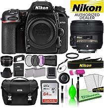 $1120 » Nikon D7500 DSLR Digital Camera with AF-S 50mm f/1.8G Lens (1581) USA Model Deluxe Bundle -Includes- Sandisk 64GB SD Card + Nikon Gadget Bag + Filter Kit + Spare Battery + Telephoto Lens + More