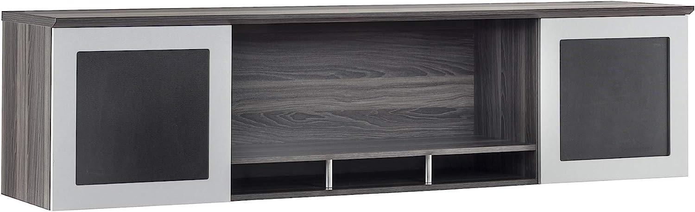 2021 new Safco Medina Hutch Cabinet Gray Steel 72