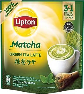 Lipton 3 In 1 Matcha Milk Tea 12 Sachets, 264 g