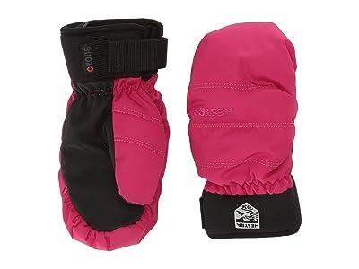 Hestra Czone Primaloft Junior Mitt (Orchid) Ski Gloves