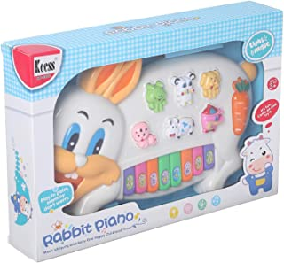 Keess Little Rabbit Piano for Kids, Multi Color