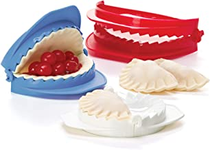 Prepworks from Progressive International Dough Press Set Medium Red/White/Teal