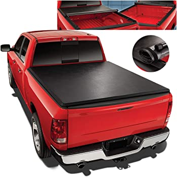 Amazon Com Roll Up Vinyl Soft Tonneau Cover Replacement For 97 04 Ford F150 Heritage 6 5 Ft Short Bed Fleetside Truck Automotive