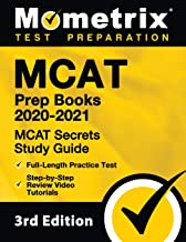 MCAT Prep Books 2020-2021: MCAT Secrets Study Guide, Full-Length Practice Test, Step-by-Step Review Video Tutorials: [3rd Edition] PDF