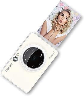 Canon Zoemini S - Cámara Instantánea Color Blanca