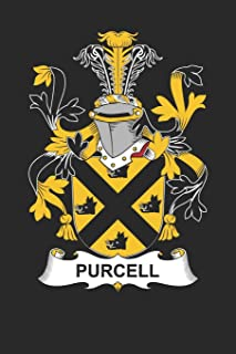 Purcell: Purcell Coat of Arms and Family Crest Notebook Journal (6 x 9 - 100 pages)