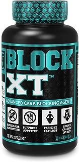 BLOCK XT Carb Blocker for Weight Loss   w/ Phase 2 White Kidney Bean & Gymnema Extract   60 Natural Keto Friendly Veggie Diet Pills