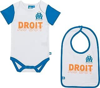 Blakenard Olympique De Marseille 0-3M Nouveau N/ée B/éb/é Tout-Petit Habits De B/éb/é Gar/çon Fille Barboteuse Jumpsuit Bodysuit Tenues
