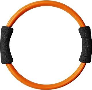 La-VIE(ラヴィ) ダイエットリング こりゃ、ええわ エクササイズ ダイエット バストアップ シェイプアップ 引き締め トレーニング ながら 円形 筋トレ オレンジ 3B-3103