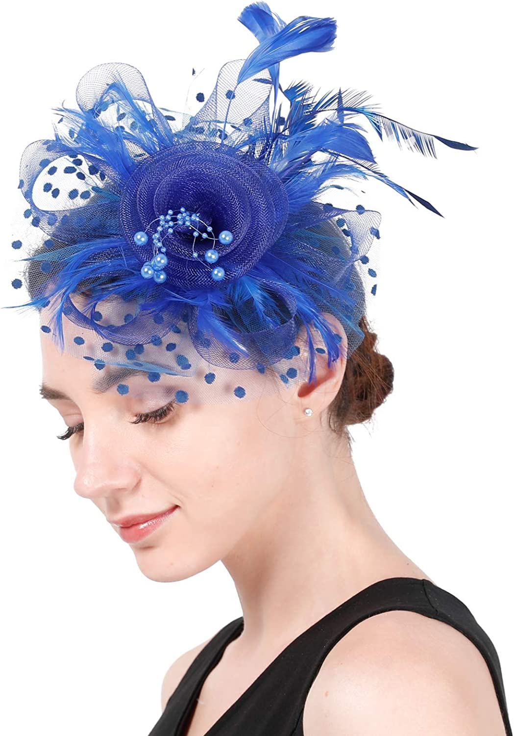 WsWt Fascinator Hat for Women Wedding Tea Party NEW before Max 75% OFF selling Kenturky Derby