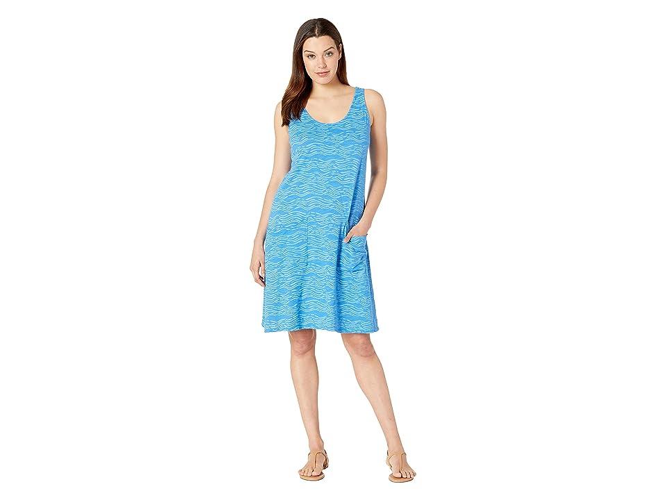 Fresh Produce Seashore Drape Dress (Atlantic Blue) Women