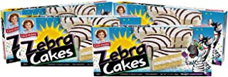Little Debbie Zebra Cakes, Contains 10 Snack Cakes (Twin Wrapped) - 4 Pack