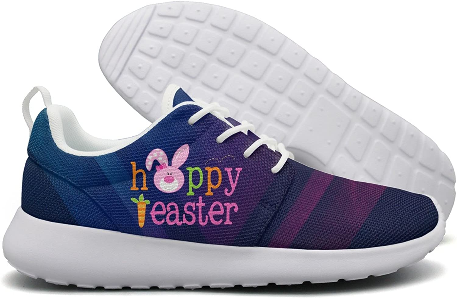 Happy Easter For Girls Women Flex Mesh Lightweight shoes For Women