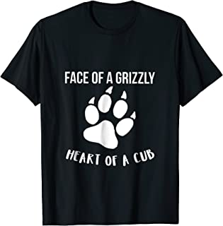 Grizzly Bear Novelty T Shirt for Men