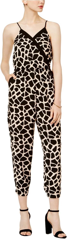 Bar Iii Womens Giraffe Jumpsuit