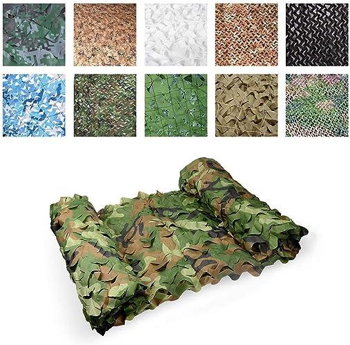 DONG Filet de Camouflage Jungle Oxford en Tissu Caché, Camping sur Le Terrain à La Chasse CS Tirant sur Les Jeux de Décoration pour Enfants, 2m  3m, 3m  5m Et Autres Tailles (Taille   8x15m)