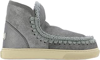 Mou Luxury Fashion Womens FW111000BDUIRO Grey Ankle Boots | Fall Winter 19