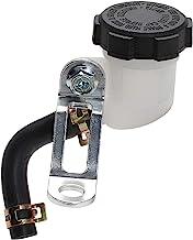 Universal Brake Clutch Master Cylinder Oil Reservoir Fluid Tank with Bracket Kit