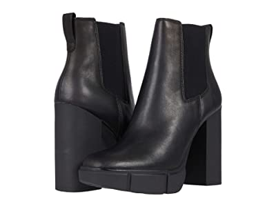 Steve Madden Revised Bootie (Black Leather) Women