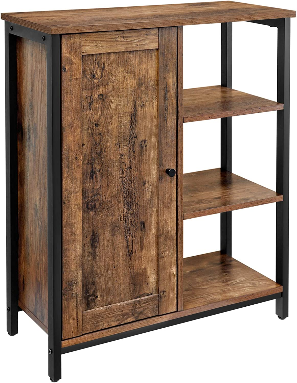 Buy VASAGLE DAINTREE Floor Standing Cabinet, Industrial Storage ...