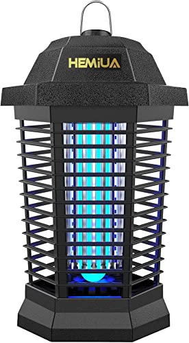 Hemiua Bug Zapper for Outdoor and Indoor, Electronic Mosquito Zapper for Home, Garden